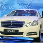 MERCEDES-BENZ E250 BLUEEFFIENCY MODEL 2012