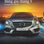 Bảng giá các dòng xe Mercedes-Benz tháng 9.2013