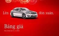 Bảng giá xe mercedes công bố chính thức của Mercedes-Benz Việt Nam áp dụng tháng 01/2014 có hiệu lực từ...