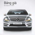 Bảng giá các dòng xe Mercedes-Benz tháng 10.2013