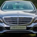 Mercedes-benz C250 Exclusive Model 2015