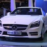 Mercedes SLK350 – mui trần hạng sang ở Việt Nam Motor Show 2012