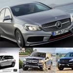 Hé lộ 5 mẫu xe mới Mercedes-Benz se ra mắt năm 2013