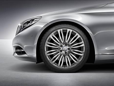 maybach-s600 Mâm xe 20 inch đa chấu màu bạc Thulium