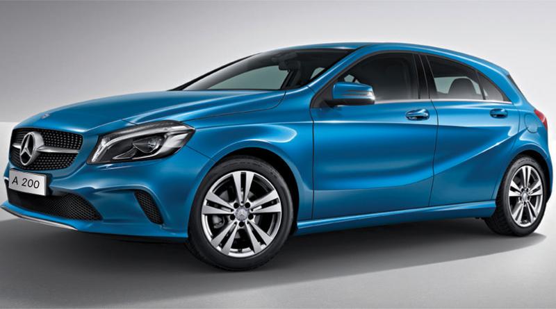 Mercedes Benz A200 2017 bản màu Blue