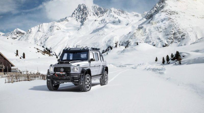 Mercedes-AMG G 63 lột xác thành 'siêu' bán tải Brabus 800 Adventure XLP