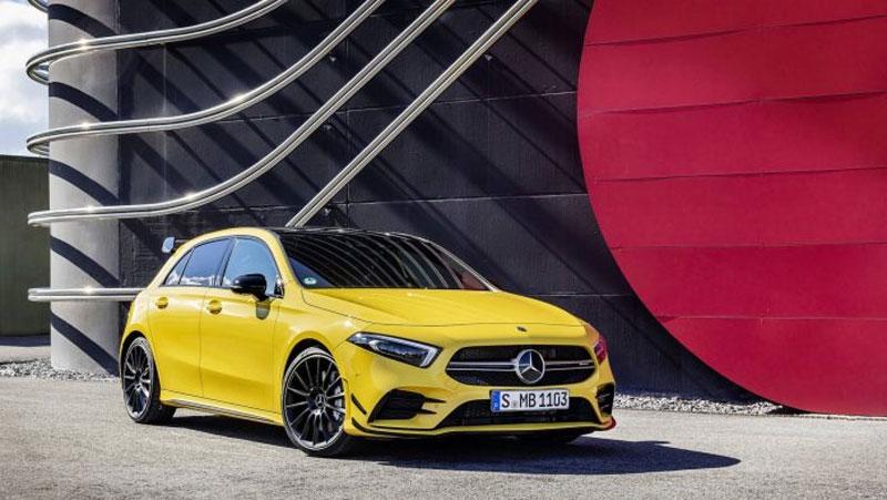 Mercedes AMG A35 mới ra mắt 1