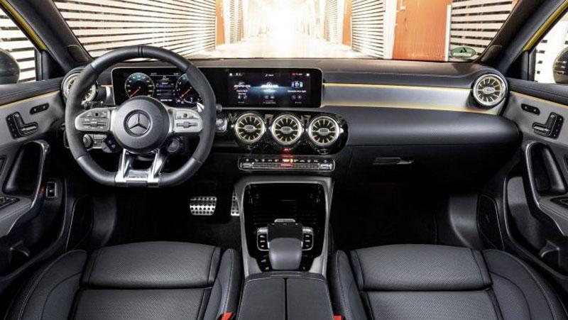 Nội thất Mercedes AMG A35